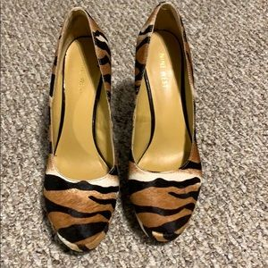 Nine West high heel shoes worn only once
